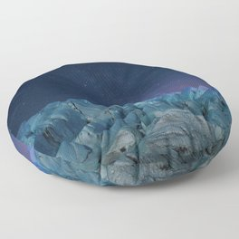 Milky Way and Stars - South Pole Floor Pillow