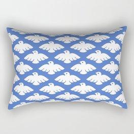 Flying Dove Pattern Rectangular Pillow