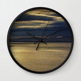 Evening on the Coast Wall Clock