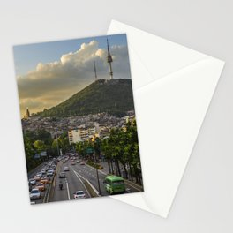 Namsan Tower Glow! Stationery Cards