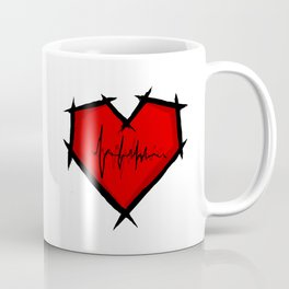 Stitched Heart Coffee Mug
