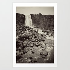 National Park, Iceland Art Print
