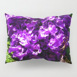 Purple Bell Flowers by Jeronimo Rubio Photography 2016 Pillow Sham
