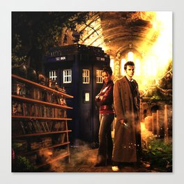 dr who Canvas Print