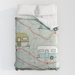 Get Your Kicks Comforters