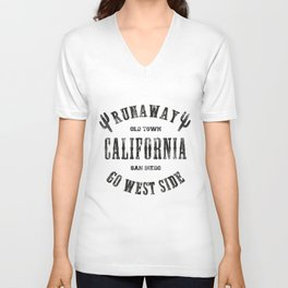 California Runaway Unisex V-Neck