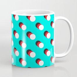 Black Circle, Red Circle, White Circle Coffee Mug