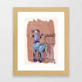 02 - Centaur Framed Art Print