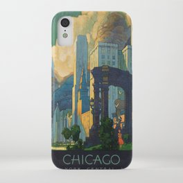 Vintage poster - Chicago iPhone Case