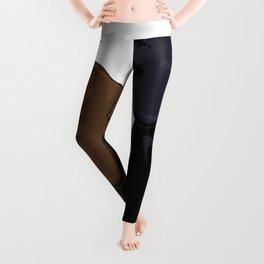 Chocolate Black Labs Leggings