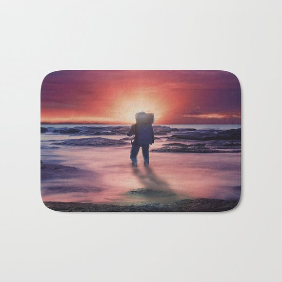 The Sunset Bath Mat