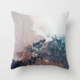 Painting Art Yoga Landscape II Throw Pillow