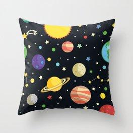 Our Universe Throw Pillow