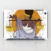 libra iPad Cases featuring Libra by stickto-otherartists