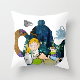 alice #3 Throw Pillow
