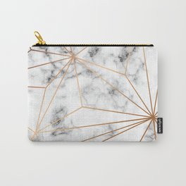 Marble & Gold 046 Carry-All Pouch