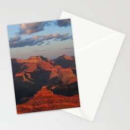 Grand Canyon Sunset Colors Stationery Cards