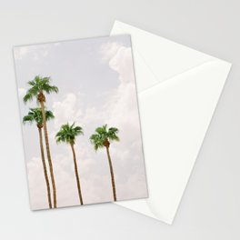 Palm Springs Palm Trees Stationery Cards