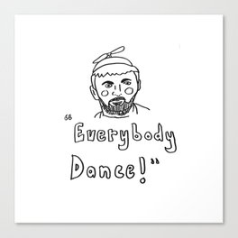 "Waiting for Guffman, ""Everybody Dance"" Canvas Print"