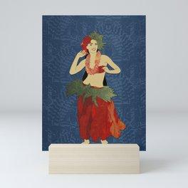 Polynesian Dancer Mini Art Print
