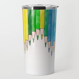 colored pencils Travel Mug