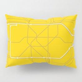 London Underground Circle Line Route Tube Map Pillow Sham