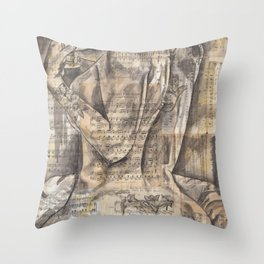 The Love Call Throw Pillow