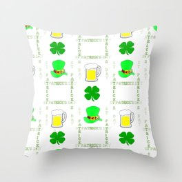 Luck Of The Irish Throw Pillow