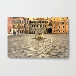 Venetian Ghetto Metal Print
