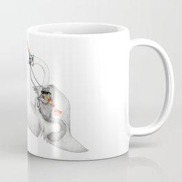Bad Ass Squirrel & Unicorn Swan Coffee Mug