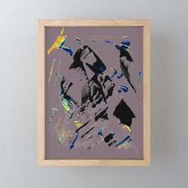 faze Framed Mini Art Print