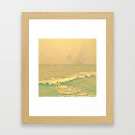 The California Summer Series // Surf Framed Art Print