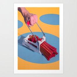 Extrude Art Print