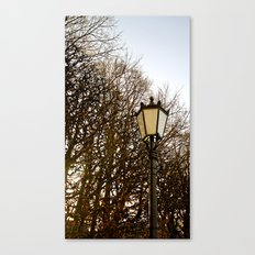 Lamppost Melodies  Canvas Print