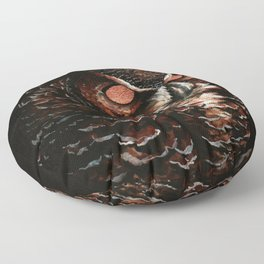 Owl, Barred Owl, Bird Floor Pillow
