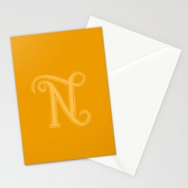 The Letter N Stationery Cards