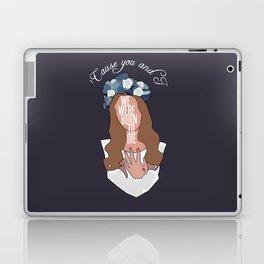 We Were Born To Die Laptop & iPad Skin