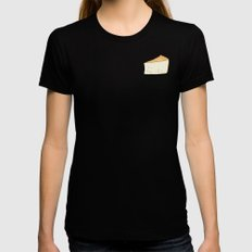 Idiazábal - smoky cheese X-LARGE Black Womens Fitted Tee