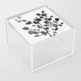 Watercolor Leaves II Acrylic Box