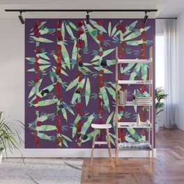 Bamboo in the Wilderness Wall Mural