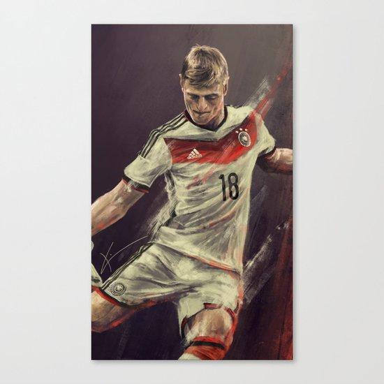 Toni Kroos Canvas Print