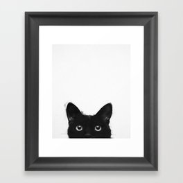 Are you awake yet? Framed Art Print