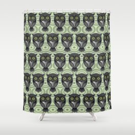 Owling Pt4 Shower Curtain