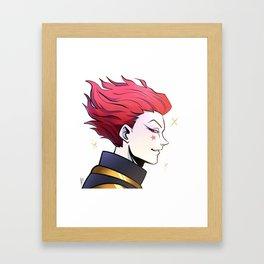 Hisoka Framed Art Print