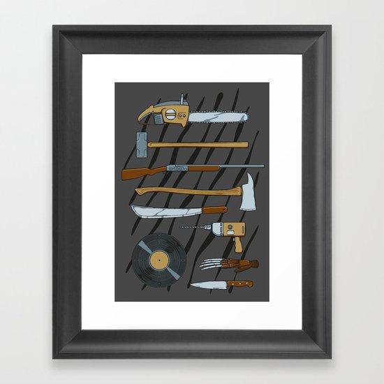 Horrible Weapons Framed Art Print