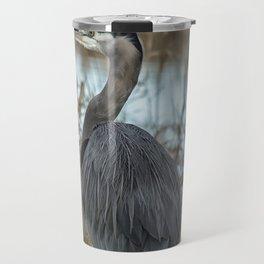 Ridgefield Heron, No. 1 Travel Mug