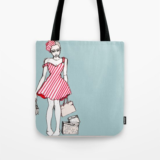 Frazzled Shopper Tote Bag