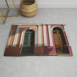 two houses in Puerto Rico Rug