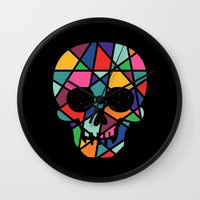 faith Wall Clocks featuring Faith by Andy Westface