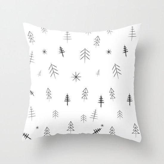 O Christmas tree[s] Throw Pillow